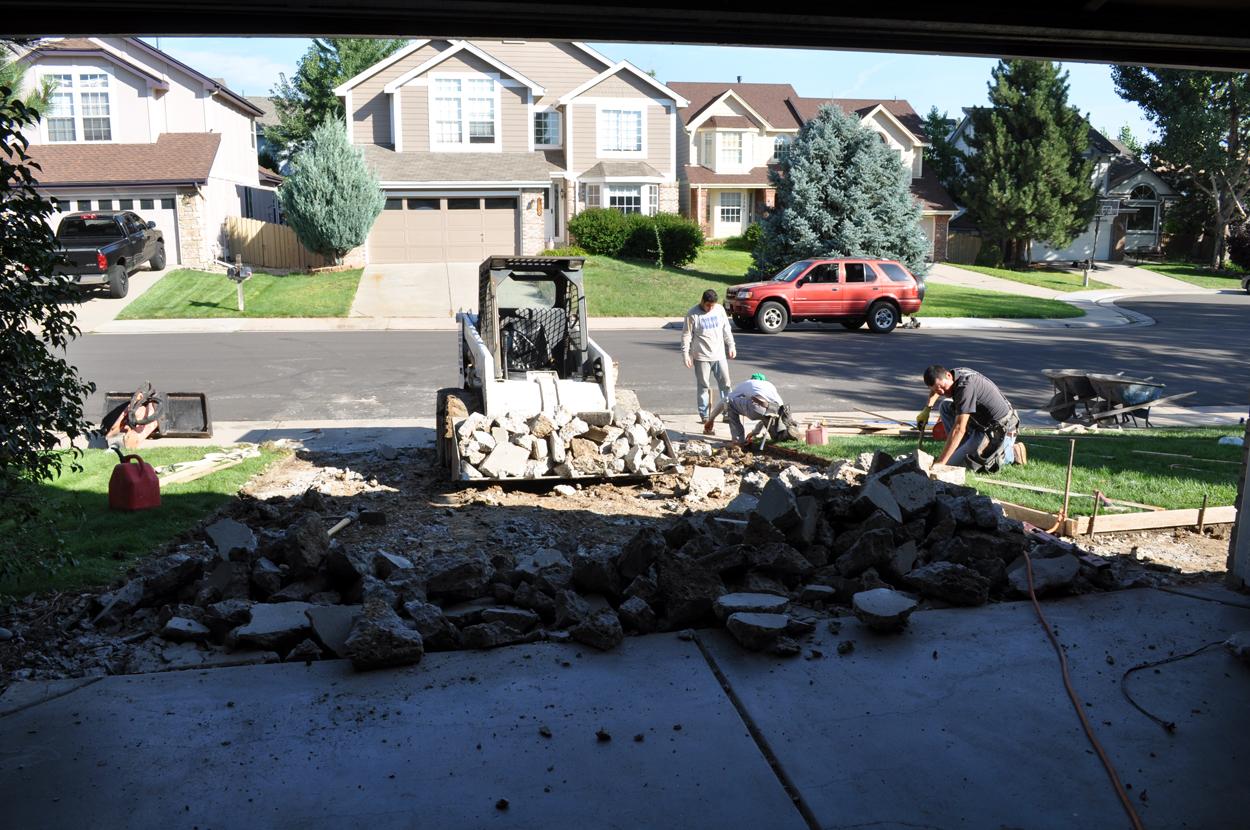 Concrete Removal Denver, CO