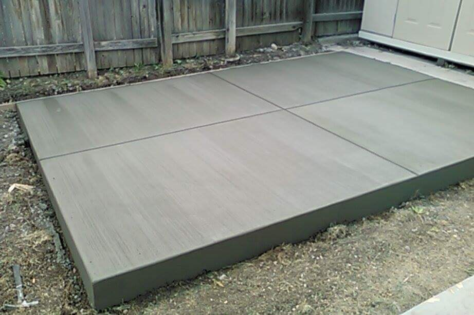 Denver Concrete Services Driveways Patios Curbing - Table pads denver