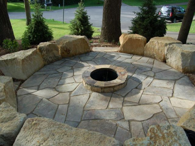 Denver Fire Pits - Landscape Stones & Flagstone ... - Denver Fire Pits:: Gas & Wood Custom Fire Pits