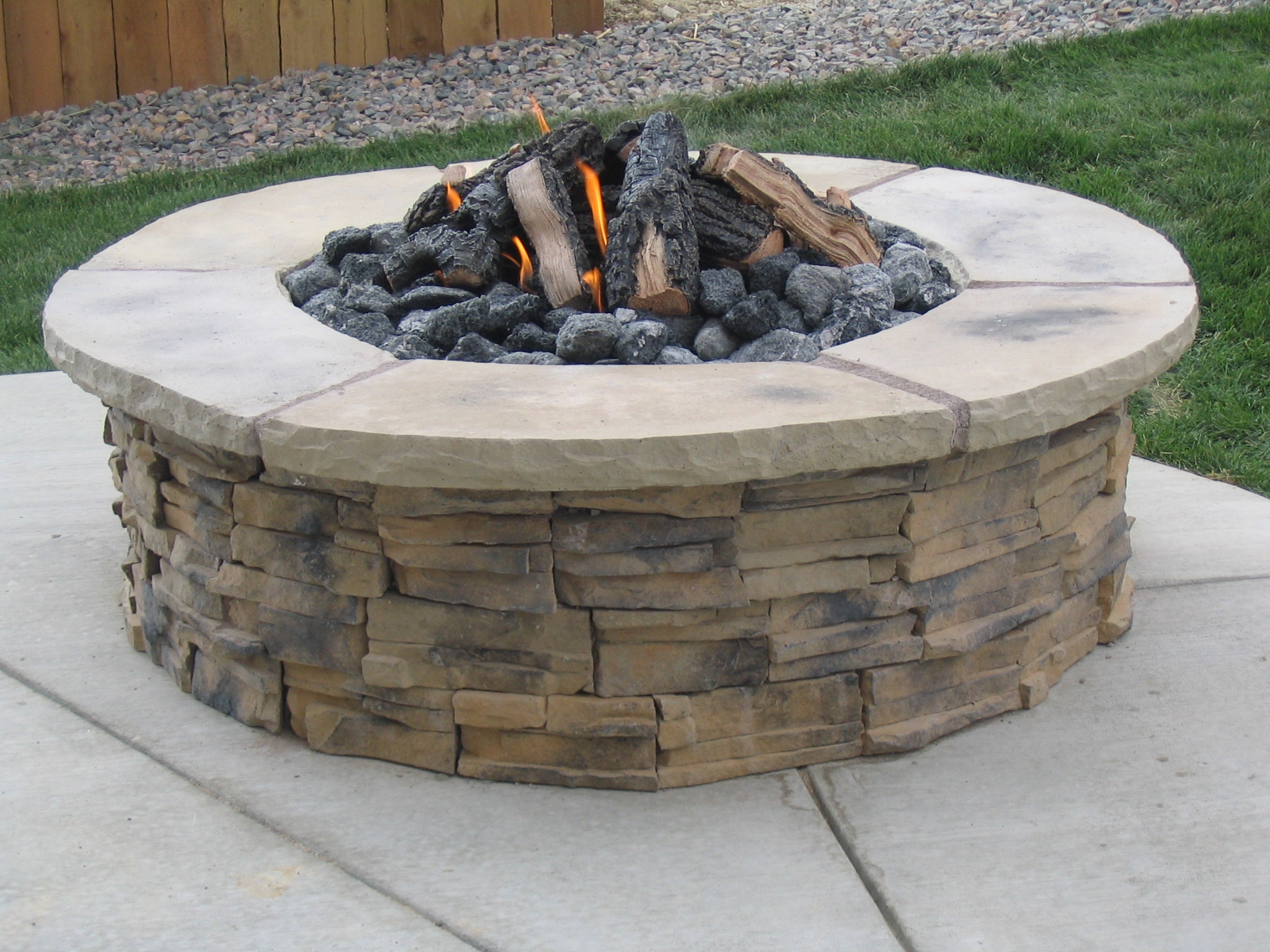 Custom Fire pits in Denver, CO