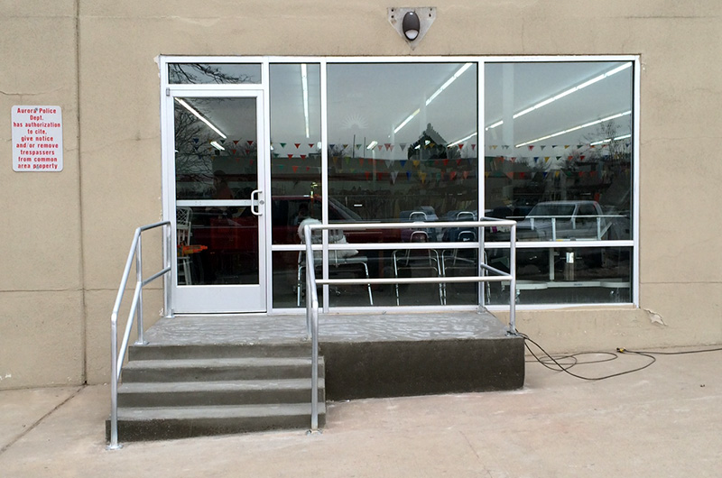Denver Commercial Concrete - Staircase