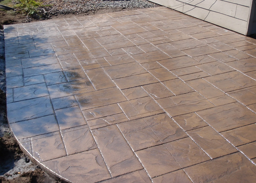 Englewood CO Stamped Concrete Patio