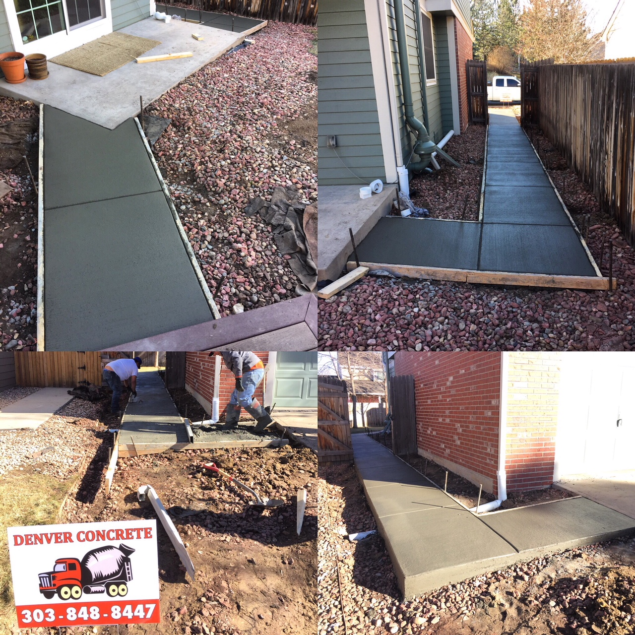 Denver Concrete Sidewalks - Sidewalk & Path Repairs