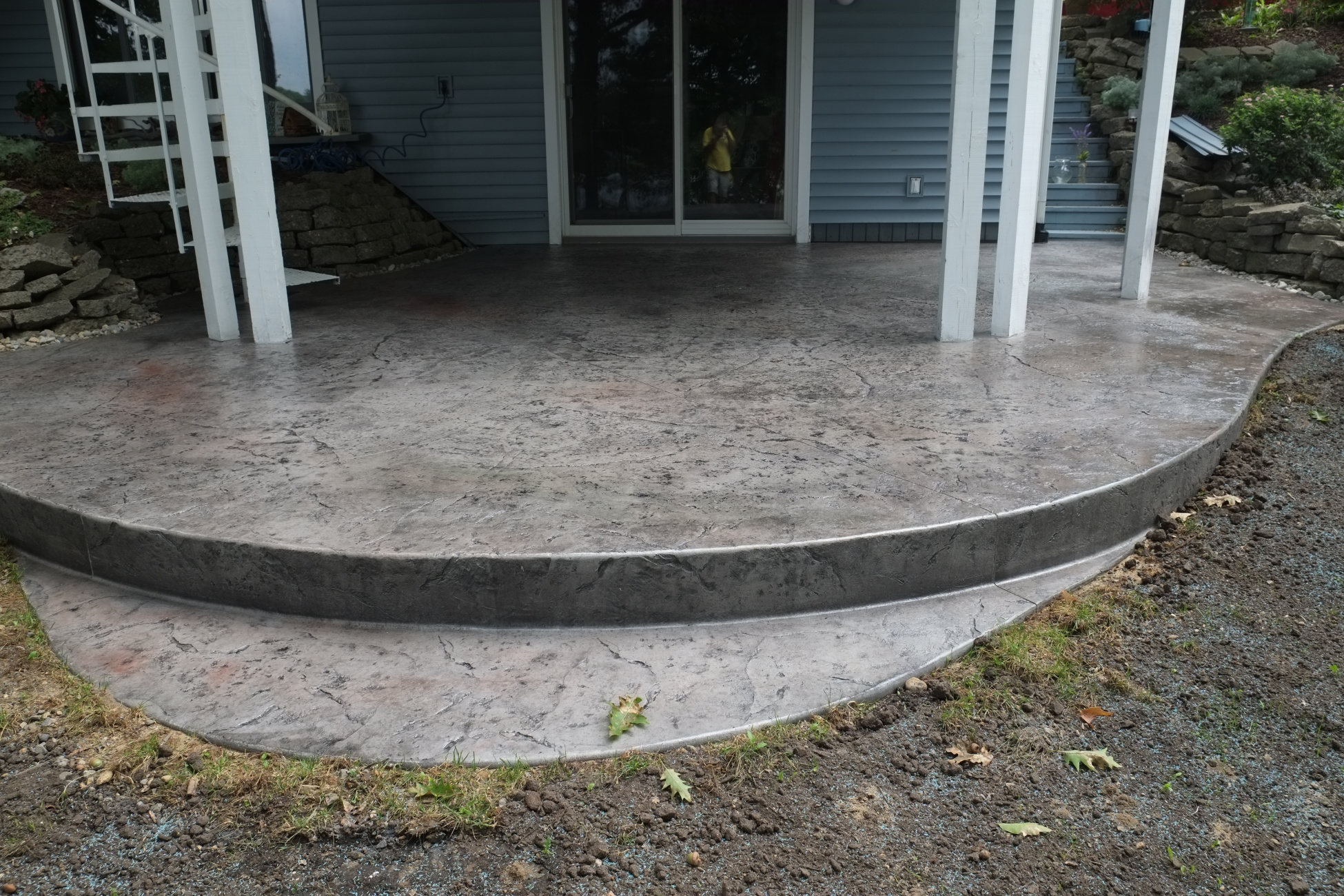 Stamped Concrete Wood Pattern Amazing Inspiration